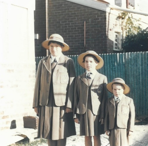 Sr Janet Lowe (left) with her two sisters