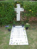 grave of Sister of Mercy